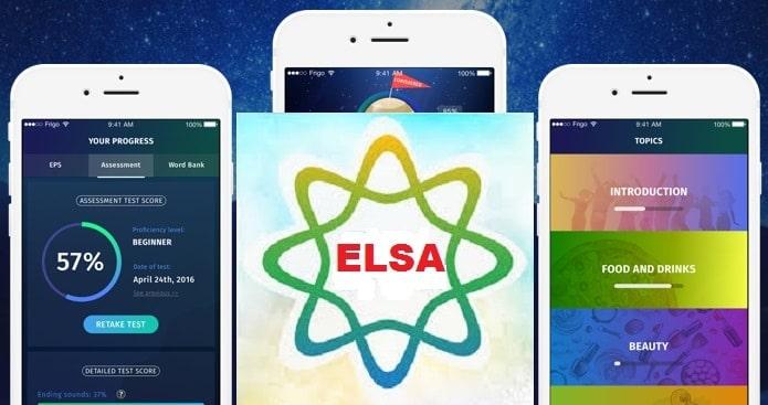 Phần mềm luyện phát âm Elsa Speak