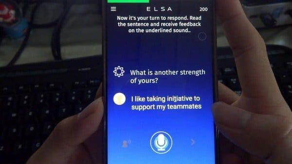 Phần mềm ELSA Speak
