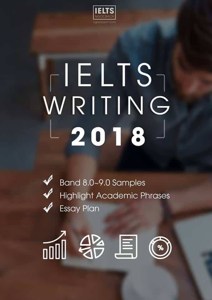 SÁCH IELTS WRITING 2018 BY NGOCBACH